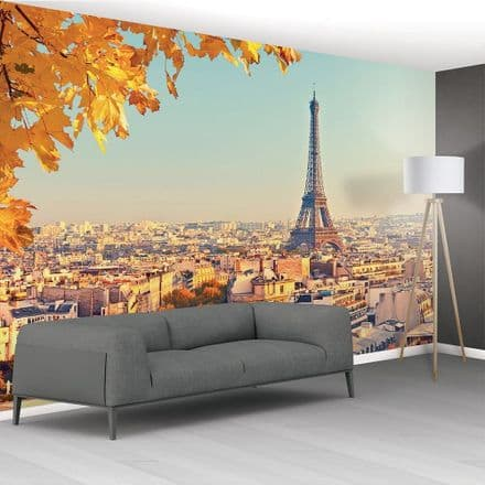Paris Skyline non-woven wall mural