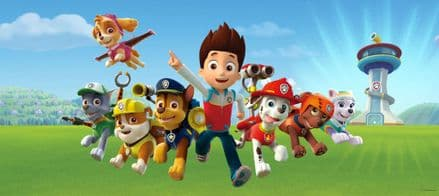 Paw Patrol Panoramic mural wallpaper 202x90cm