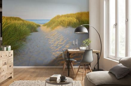 Photo wallpaper Sandy Path - Seaside