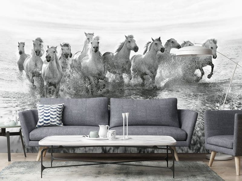 Photo wallpapers White Horses | Shop online