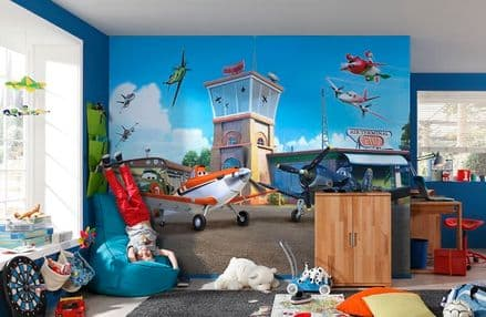 Planes from Disney wall mural