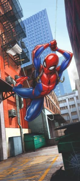 Spider-man wall mural wallpaper 90x202cm Marvel