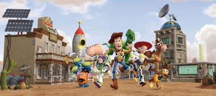Toy Story mural wallpaper 202x90cm