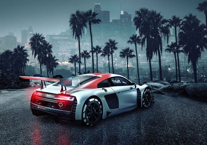 Audi R8 Los Angeles photo wallpapers | Buy it now