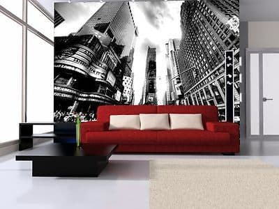 Wallpaper Mural TIMES SQUARE VINTAGE New York 320x230cm GIANT WALL ART FOR HOME