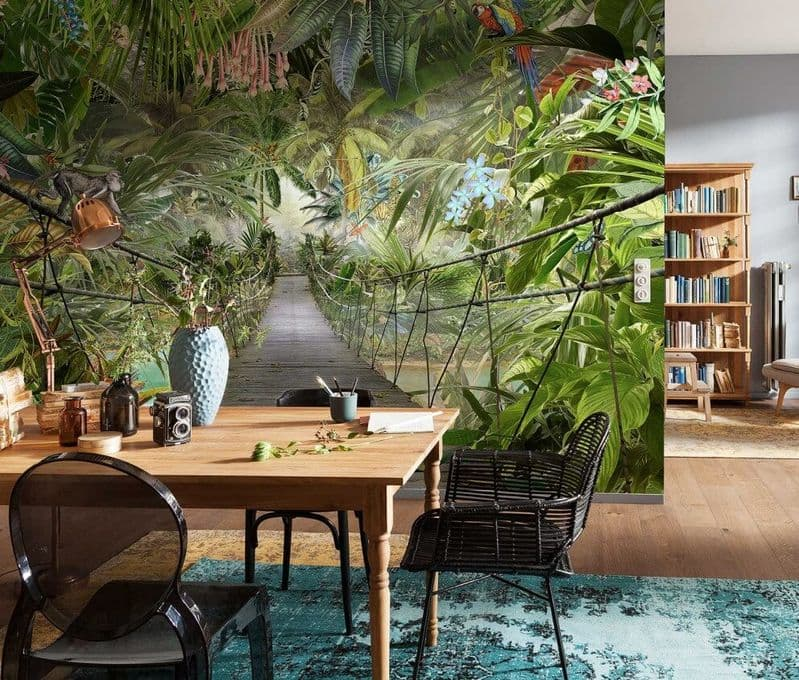 Jungle giant paper wallpapers by Homewallmurals