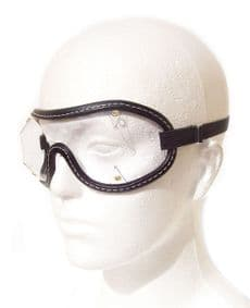 Childs Size Goggles |Black Trim - Clear Lens