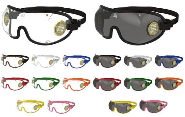 Kroops Original Brass Vented Goggles