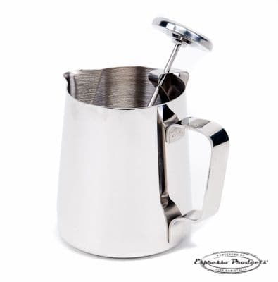 Milk jug and Thermometer 12oz | Espresso Products