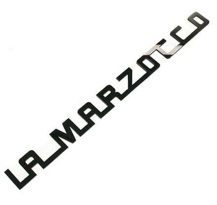 LA MARZOCCO 1991 CUSTOM 200mm ACRYLIC LOGO (BLACK)