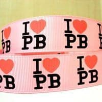 1 METRE OF PINK PAULS BOUTIQUE RIBBON IN SIZE INCH HEADBANDS BOWS CARD MAKING