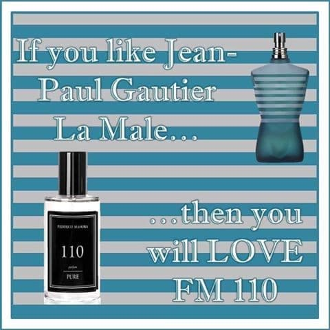 110– PURE PARFUM FOR HIM INSPIRED BY J.P GAULTIER -LE MALE 50ML