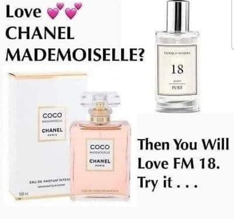 18– PURE PARFUM FOR HER  INSPIRED BY CHANEL -COCO MADEMOISELLE 50ML