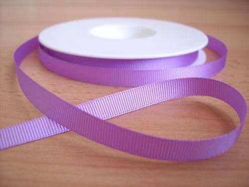 3 YARDS OF SIZE 3/8 LILAC GROSGRAIN RIBBON
