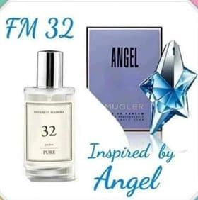 32– PURE PARFUM FOR HER INSPIRED BY THIERRY MUGLER ANGEL 50ML