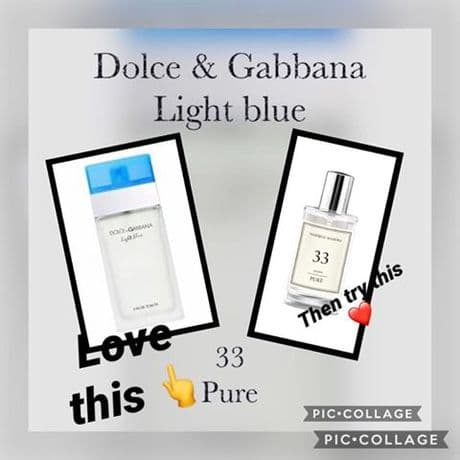 33– PURE PARFUM FOR HER  INSPIRED BY DOLCE & GABBANA -LIGHT BLUE 50ML