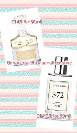 372– PURE PARFUM FOR HER INSPIRED BY CREED AVENTUS FOR HER 50ML