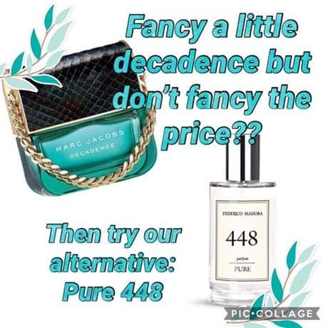 448 – PURE PARFUM FOR HER INSPIRED MARC JACOBS DECADENCE  50ML