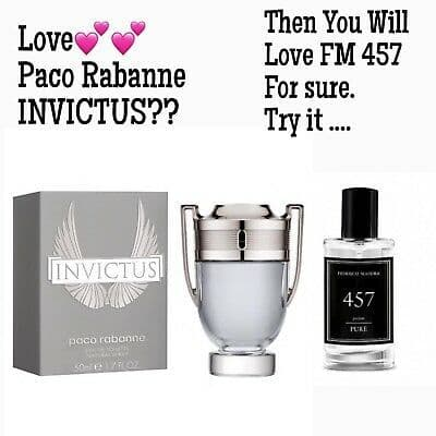 457– PURE PARFUM FOR HIM INSPIRED BY PACO RABANNE - INVICTUS  50ML