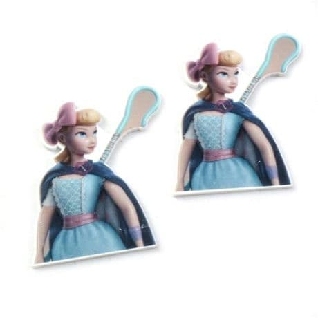 5 x 30MM BO PEEP FROM TOY STORY LASER CUT FLAT BACK RESIN HEADBANDS HAIR BOWS CARD MAKING