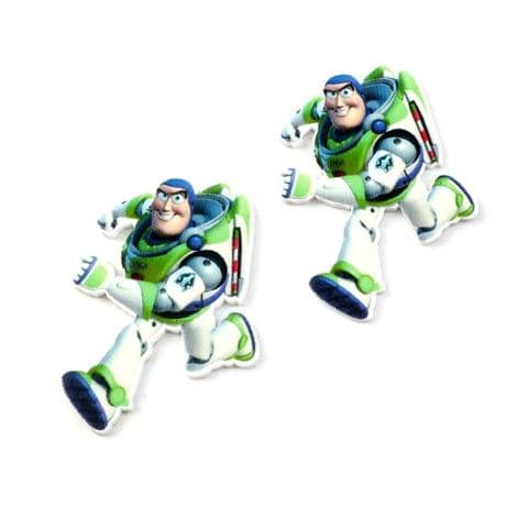5 X 30MM BUZZ LIGHTYEAR FROM TOY STORY LASER CUT FLAT BACK RESIN HAIR BOWS HEADBANDS CARD MAKING
