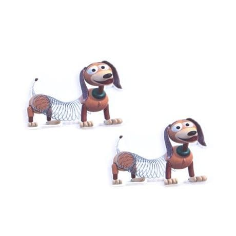 5 x 36MM SLINKY DOG FROM TOY STORY LASER CUT FLAT BACK RESIN HEADBANDS HAIR BOWS  CARD MAKING