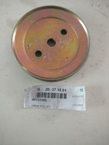 """AYP/ Husqvarna 532131482 / 131482 Drive Pulley 3-3/8"""" OD 3/8"""" section"""