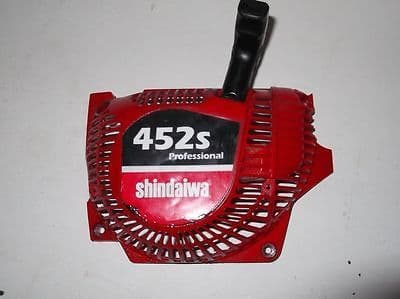 Shindaiwa 452s Professional Chainsaw Parts - Side Cover & Recoil Assy