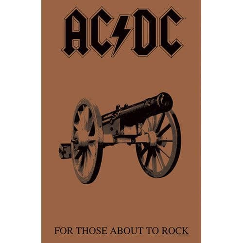 AC/DC 'For Those About To Rock' [tp]