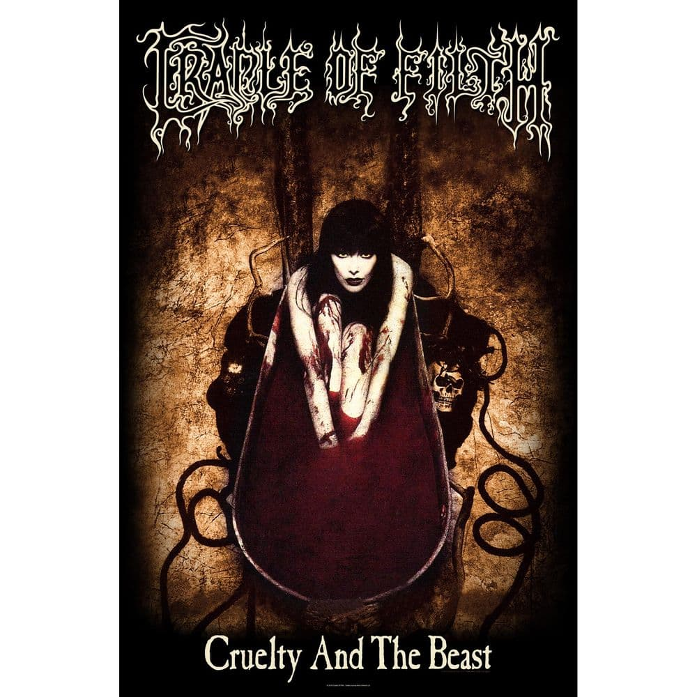 Cradle Of Filth 'Cruelty And The Beast' [tp]