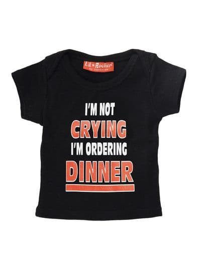 I'm Not Crying Baby T-shirt