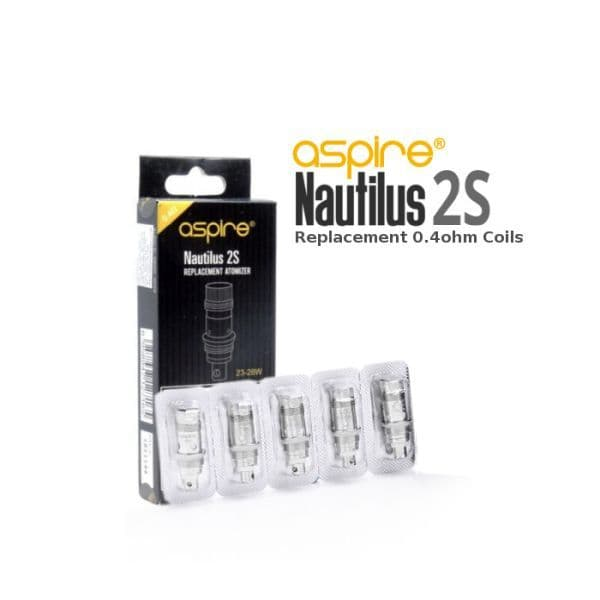 ASPIRE NAUTILUS 2S COILS, pack of 5
