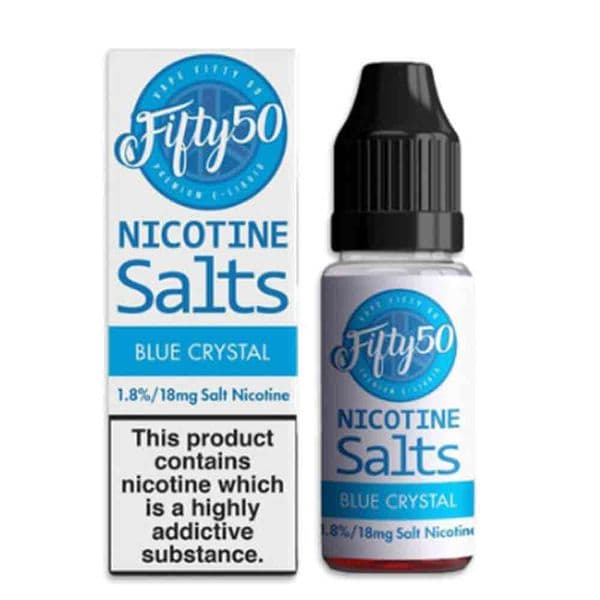 Fifty 50 - Blue Crystal - Nic Salts