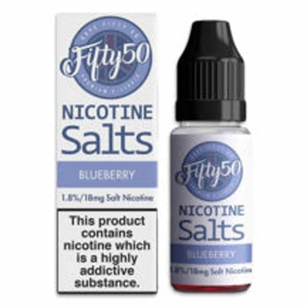 Fifty 50 - Blueberry - Nic Salts