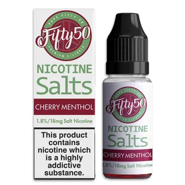 Fifty 50 - Cherry Menthol - Nic Salts