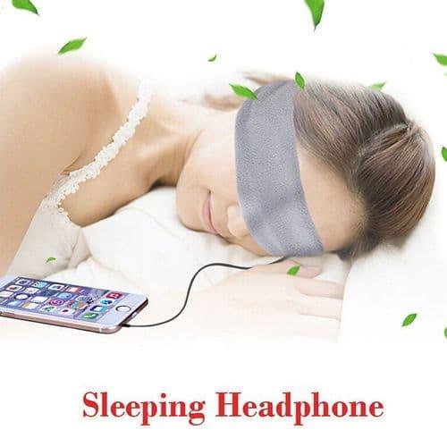 Écouteurs Audio Bandeau Masque de Sommeil pour Lecteur MP3 Smartphone GY