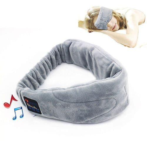 Écouteurs Sans fil Bluetooth Bandeau Masque Sommeil pour Lecteur MP3 Smartphone