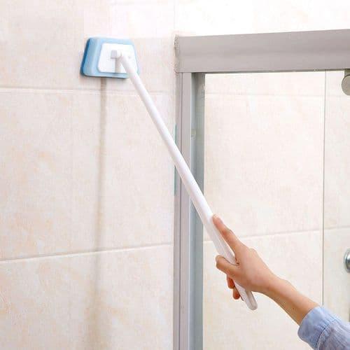 Éponge à long manche brosse salle de bains nettoyage baignoire évier carreaux