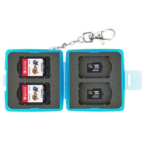Étui Boîte de Carte Mémoire pour 4 Cartes Nintendo Switch 4 micro SD BU