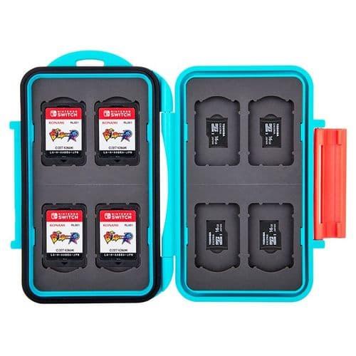 Étui Boîte de Carte Mémoire pour 8 Cartes Nintendo Switch 8 micro SD BU
