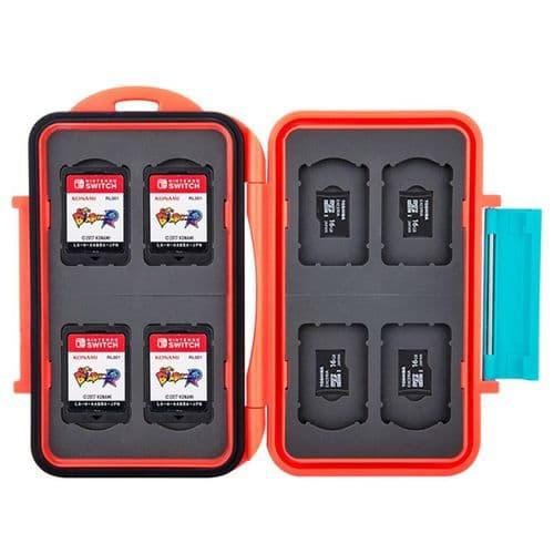 Étui Boîte de Carte Mémoire pour 8 Cartes Nintendo Switch 8 micro SD RD