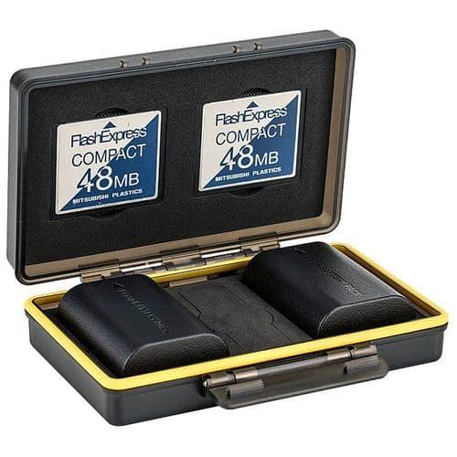 Étui De Protection Pour Carte Mémoire Et Batterie Pour Canon Sony Nikon Fujilm