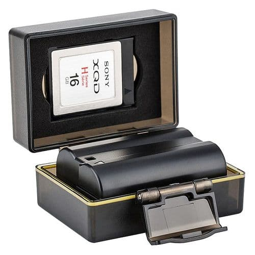 Étui Pour Carte Mémoire Et Batterie Pour Nikon En-El15 / Batterie 61X41X23Mm