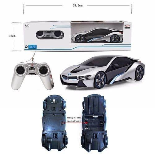 1:24 Auto Sport Voiture Electric Télécommande Sans Fil Jouet 4CH Radio Contrôle