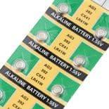 10pcs Pile Bouton Batterie AG3 LR41 LR736 392 392A SR41SW CX41 SR736 SR41