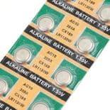 10pcs Piles Bouton Batteries AG10 LR1130 389A LR54 L1131 189 Pile Alcaline 1.55V
