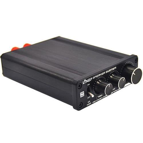 136W 1 Entrées RCA vers 2 Sorties RCA R/L Indépendant Audio Ampli Amplificateur