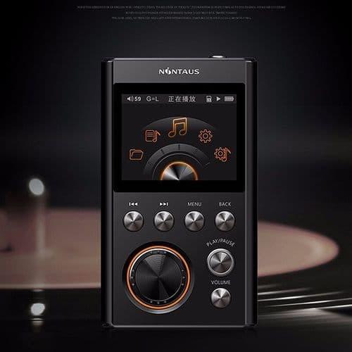 16Go Lecteur Baladeur MP3 X10 DSD64 Audio Lossless DAC WM8965 24Bit 192Khz