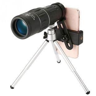 16X52 Hd Monoculaire Téléobjectif Avec Support Clip Photo Téléphone Portable