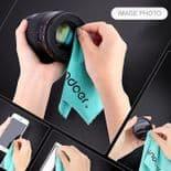 1x Chiffon Microfibre Tissu de Nettoyage Pour Lunettes Smartphone Photo Objectif Tablette
